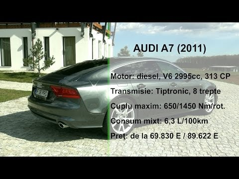 Audi A7 3.0 TDI biturbo (www.buhnici.ro)