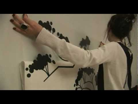 видео: СтикБутик интерьерные наклейки.