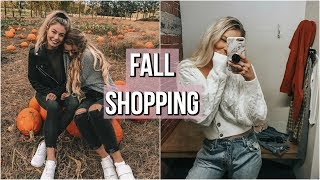 COME FALL SHOPPING WITH US! + haul