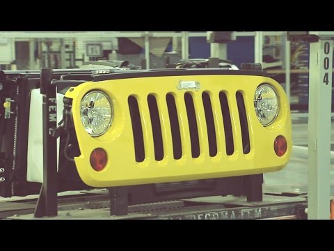Jeep Liberty and Jeep Wrangler Production