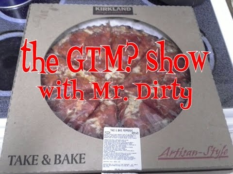 The Gtm Show Kirkland Take And Bake Pepperoni Pizza Youtube