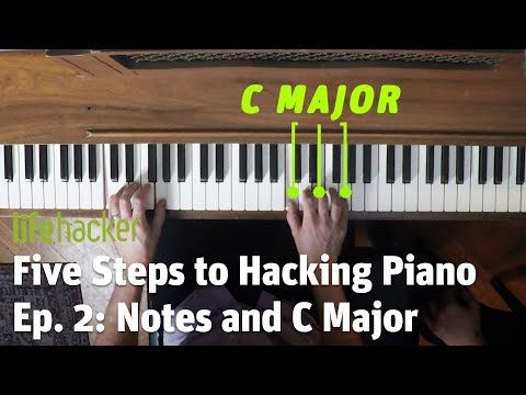 How to Fake Playing Piano: Lesson 2