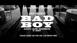 RED VELVET - BAD BOY [ACOUSTIC GUITAR INSTRUMENTAL]