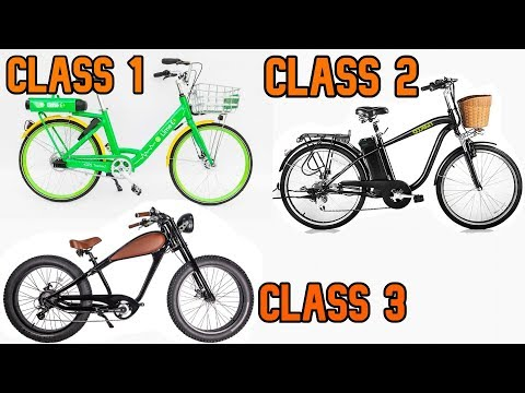What's the Difference between a Class 1, 2, & 3 Ebike! | GreenMotion E-Bikes