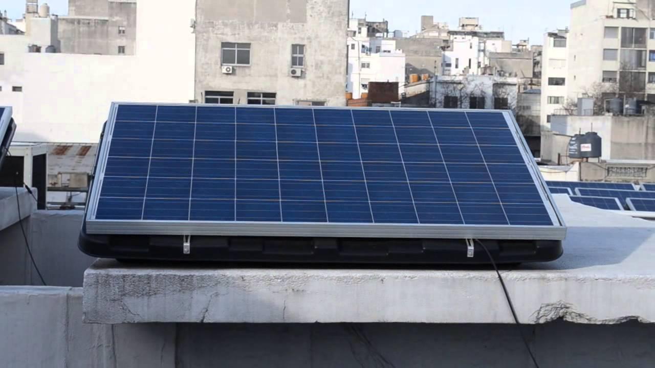 Sistema de paneles solares para calentar agua youtube for Placas solares para calentar agua