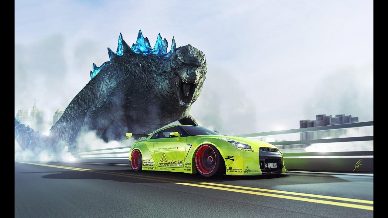 Nissan Gtr Godzilla Tune Pixel Car Racer Tuned Series