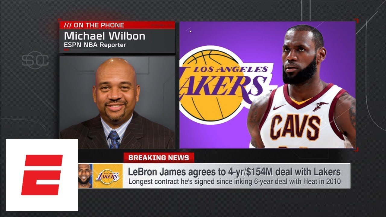 Michael Wilbon: LeBron James to Lakers is first step en route to a superteam | SportsCenter | ESPN