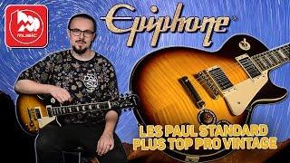 EPIPHONE LES PAUL STANDARD PLUS TOP PRO VINTAGE