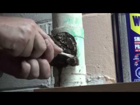Drain pipe repair._._._._._._._.what a
