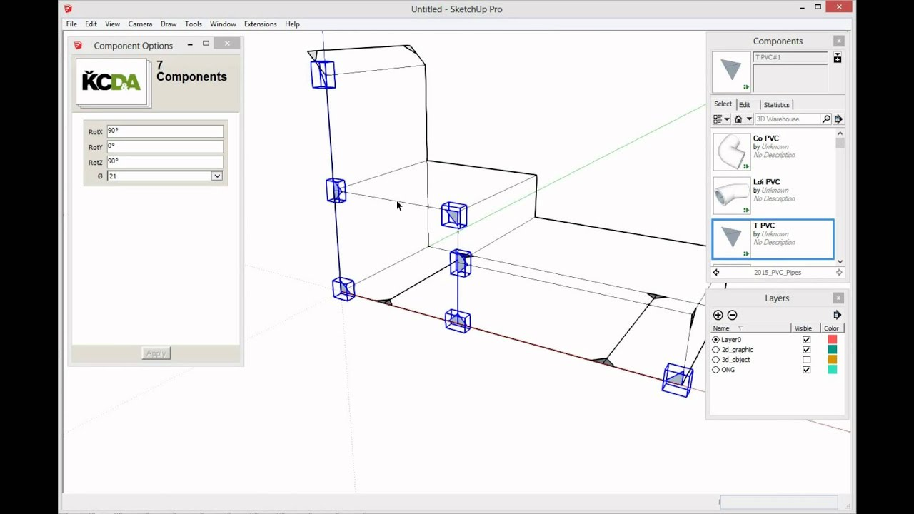 Pipes Working In Sketchup