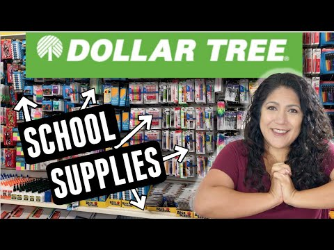 NEW MEGA Dollar Tree BACK TO SCHOOL | Shop With Me At 3 Stores