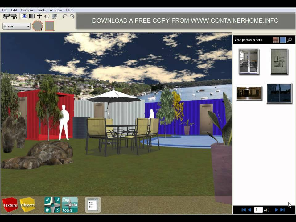 Shipping container home design software youtube Home modeling software