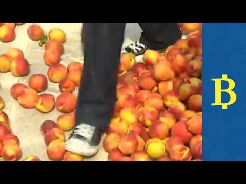 European farmers protest over lost revenue from russian embargo