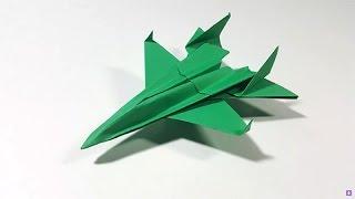 Como hacer un Avion de Pape Model | F-14