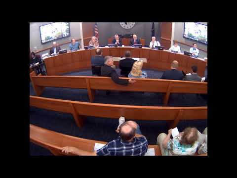 2017 08 22 Porter County Council Meeting