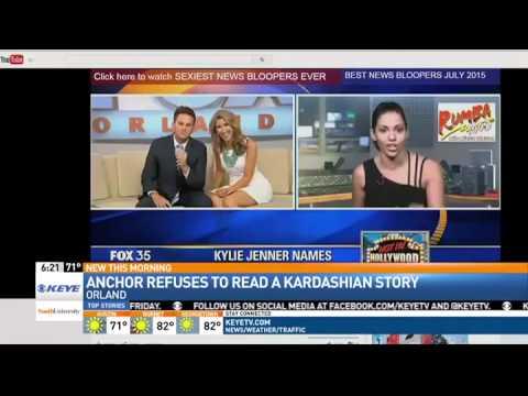 News Anchor Walks off Set