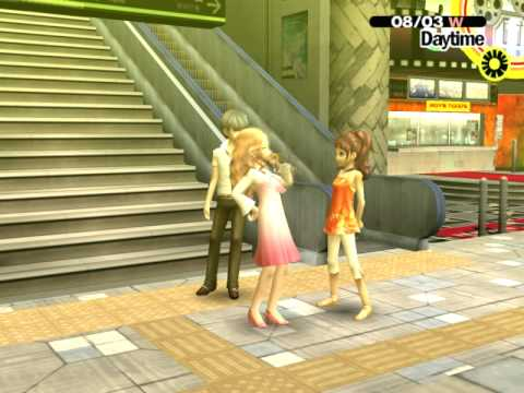 Persona 4 - Date with Ai & Rise at Okina Station [UNDUB] [PCSX2]