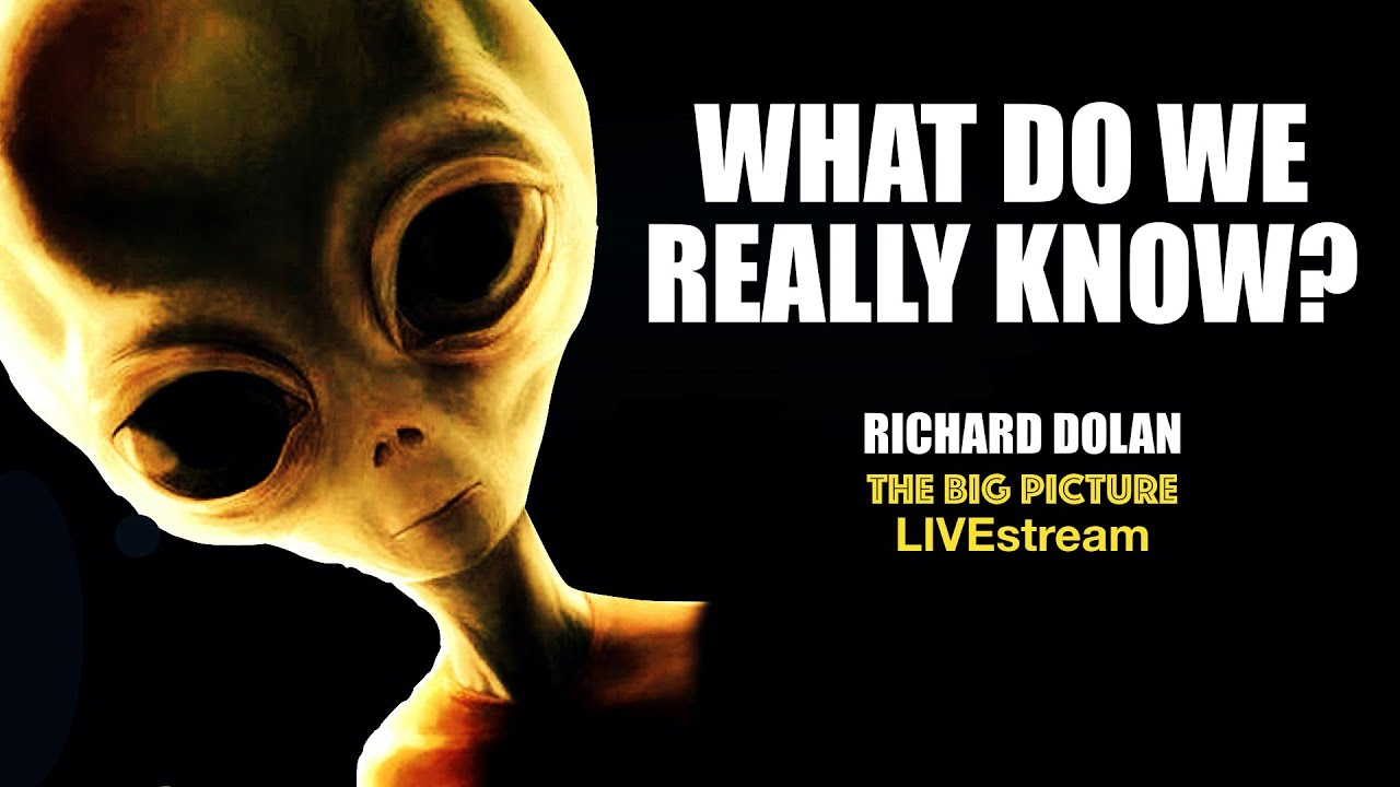 What Do We Really Know? Richard Dolan on Extraterrestrials.