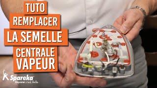 Comment remplacer la semelle de votre centrale vapeur