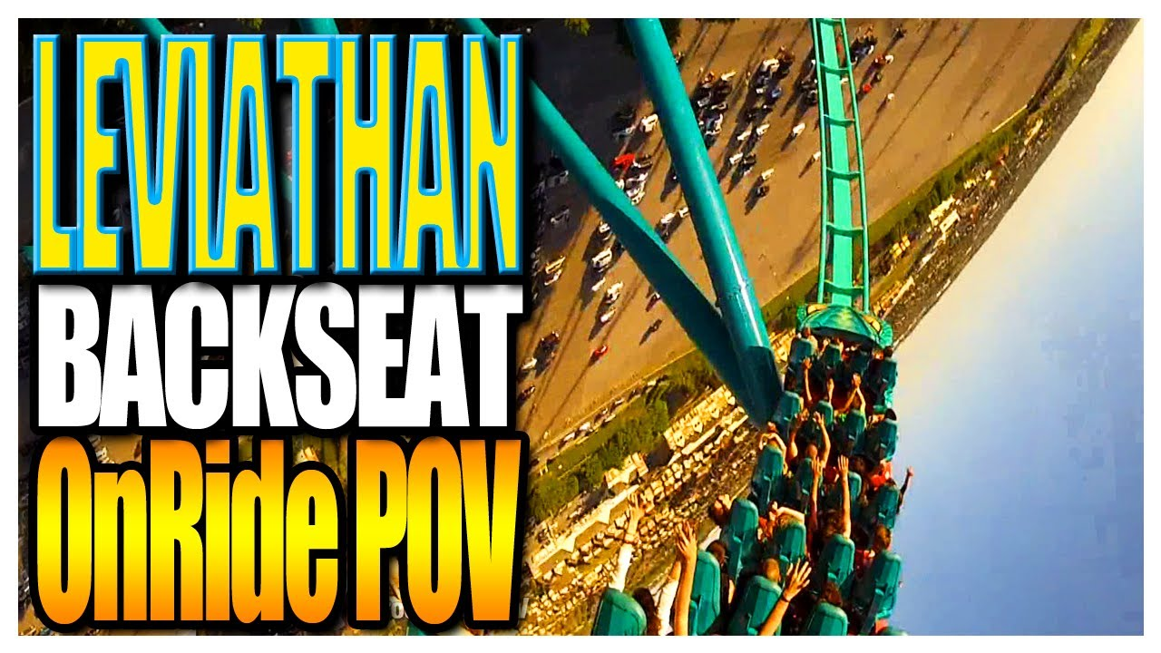 Leviathan Backseat On Ride POV Canada's Wonderland 2012 ...