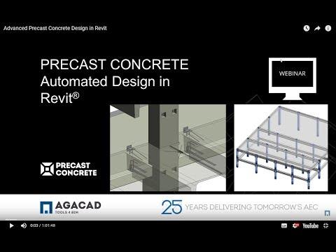 Advanced Precast Concrete Design in Revit
