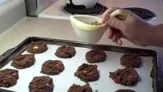 Recipes Using Cake Mixes: #2 - Peanut Butter Candy Cookies