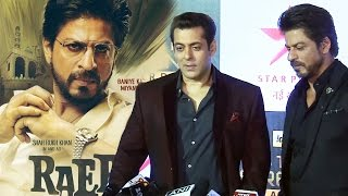 (Video) Salman Khan's REACTION On Shahrukh Khan's RAEES