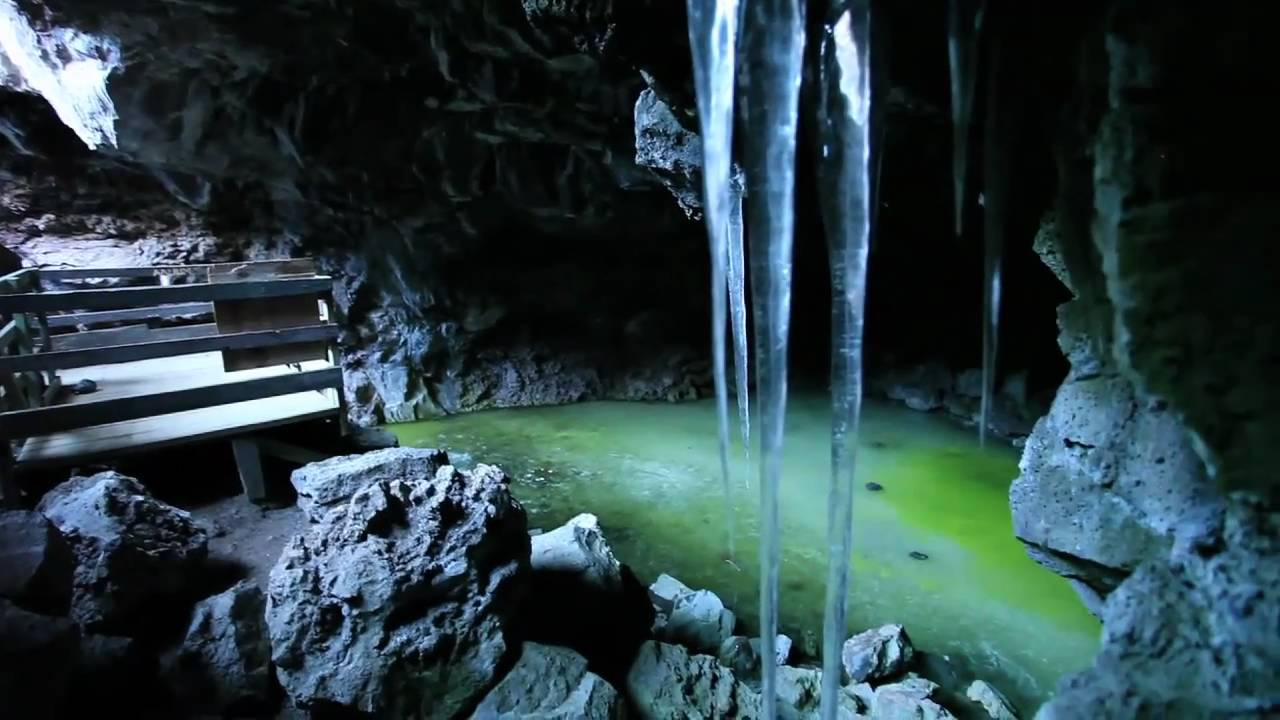 Ice Cave in New Mexico stock image. Image of cave, green ... |New Mexico Ice Caves