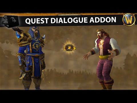 Storyline Addon | Quest Dialogue Overhaul | WoW Patch 6.2.4