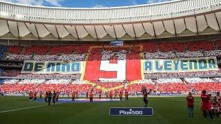 Tifo Fernanando Torres - Atlético de Madrid vs Eibar