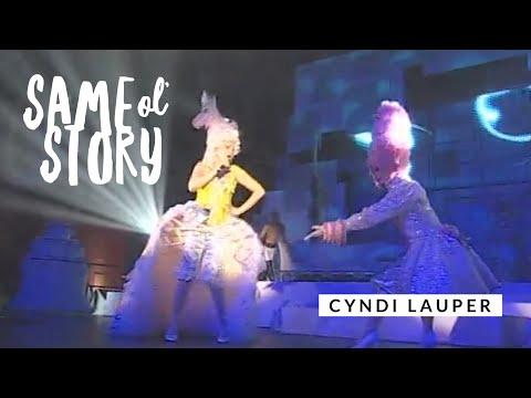 Смотреть клип Cyndi Lauper - Same Ol Story
