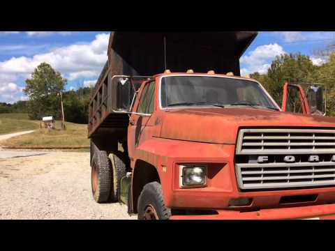 1984 Ford Dump Truck For Sale - YouTube
