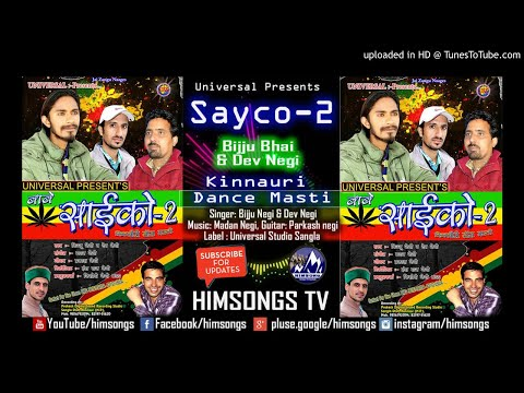 Sayco-2 I Bijju Negi & Dev Negi I Kinnauri Non Stop I Madan Negi I Himsongs TV