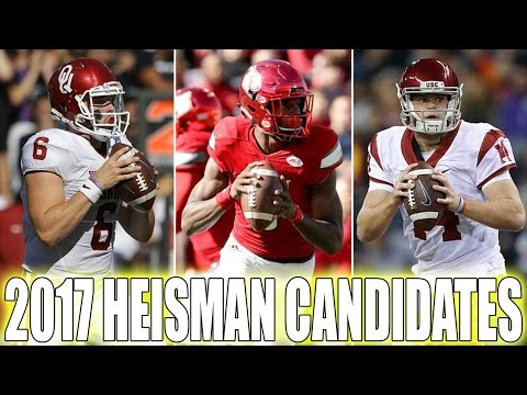 10 HEISMAN Candidates For 2017-2018 CFB Season