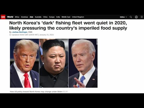 N.Korea's 'dark' fishing fleet went quiet in 2020, likely pressuring country's imperiled food supply