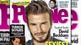 David Beckham Crowned People