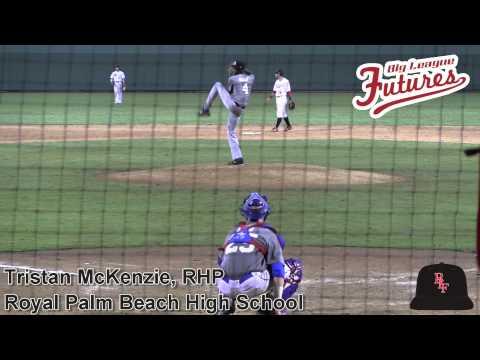 Tristan McKenzie Prospect Video, RHP, Royal Palm Beach High School Class of 2015 #mlbdraft