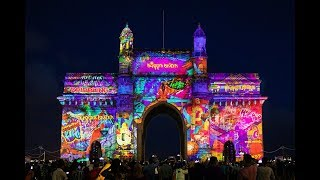 Gateway of India Projection Mapping - NBA Coming to India