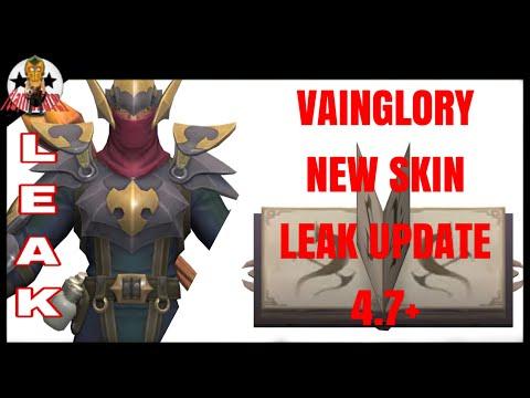 VAINGLORY NEW SKIN LEAK UPDATE 4.7+ | FlameEater
