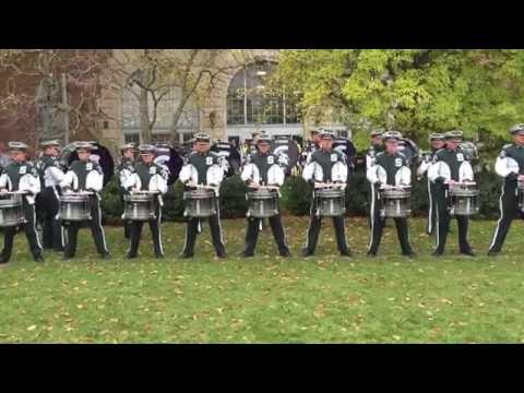 "MSU Drumline playing ""X"" - 10/29/2016"
