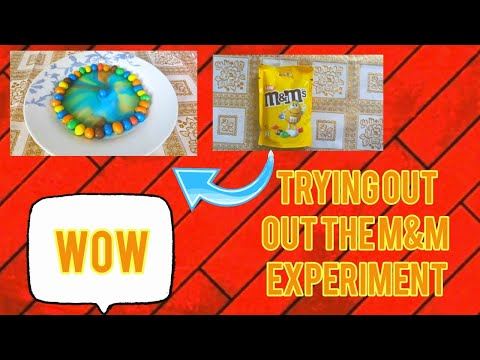 Trying out the M&M experiment