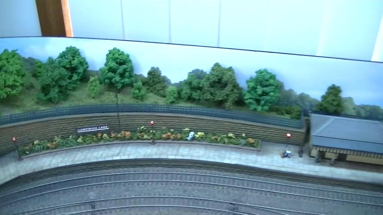 Model railway Layout Lighting - YouTube