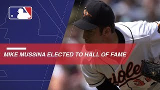 Former Oriole Mike Mussina elected to HOF with 76.7 percent of votes