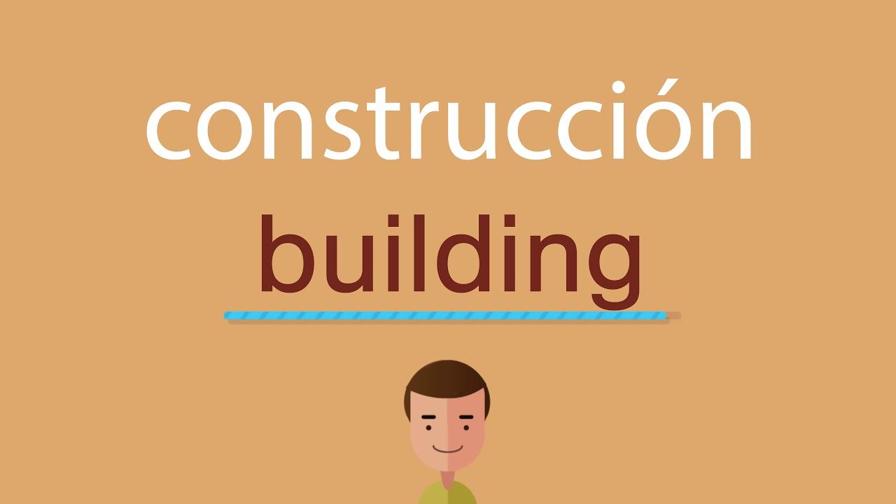Verbos de construcción en inglés