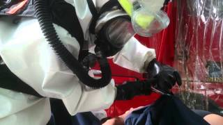 Exercise Heartbeat: SCDF perform decontamination procedures
