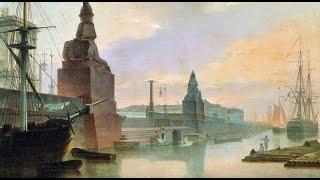 Инвестиции в искусство. Максим Воробьев, Набережная Невы у Академии Художеств (1835)
