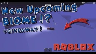 UPCOMING NEW BIOME!? + Giveaway (closed) - Roblox Lumber Tycoon 2