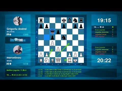 Chess Game Analysis: marcelinou Grigoriu Andrei : 10 (By ChessFriends.com)