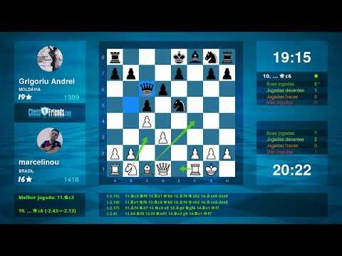 Chess Game Analysis: marcelinou Grigoriu Andrei : 10 (By ChessFriends.com)