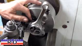 Honda D16 Connecting Rod Lightening